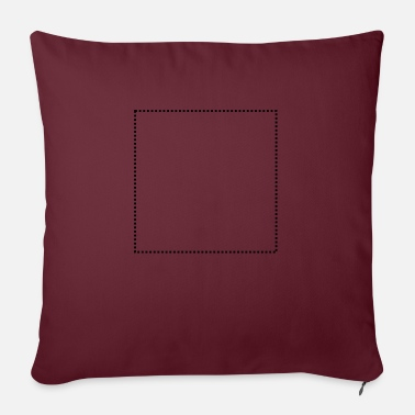 Quadrat Quadrat gepunktet - Sofa pillow with filling 45cm x 45cm