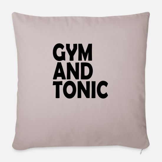 Funny Pillow Cases - Funny - Sofa pillow with filling 45cm x 45cm light taupe