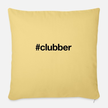Clubbers CLUBBER - Sofa pillow with filling 45cm x 45cm