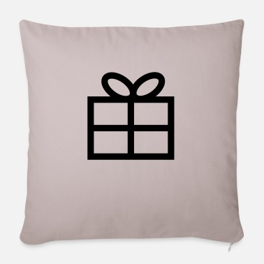 Present Gift - Present - Sofa pillow with filling 45cm x 45cm