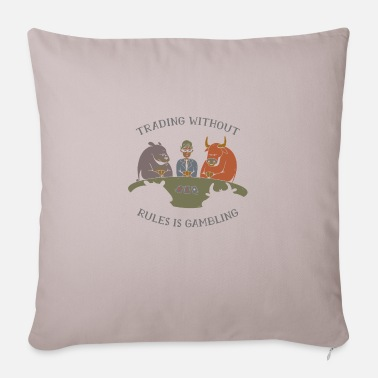 Trade Trading trade shares - Sofa pillow with filling 45cm x 45cm