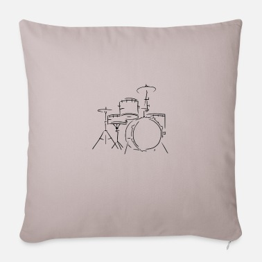 Drum Set Drum set - Sofa pillow with filling 45cm x 45cm