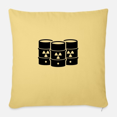 Nuclear Waste nuclear waste - Sofa pillow with filling 45cm x 45cm