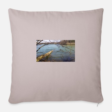 View Lake view - Sofa pillow with filling 45cm x 45cm