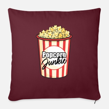 Popcorn Junkie - Sofa pillow with filling 45cm x 45cm