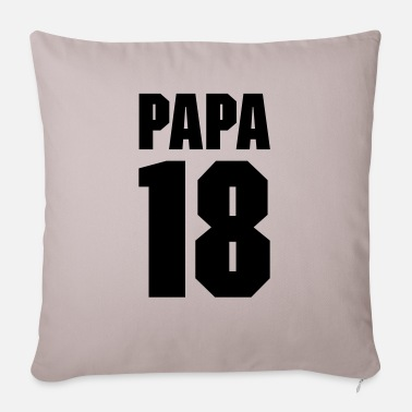 Papa 18 - Sofa pillow with filling 45cm x 45cm