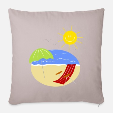 Holidays holiday - Sofa pillow with filling 45cm x 45cm