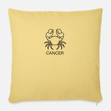 Cancer CANCER | cancer - Sofa pillow with filling 45cm x 45cm