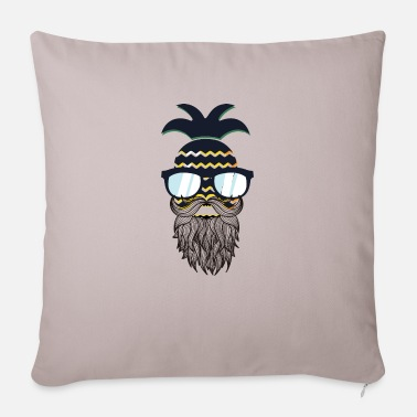 Glass Underwear Funny perfect hipster pineapple - Sofa pillow with filling 45cm x 45cm