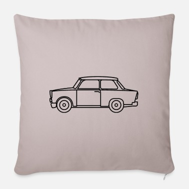 East trabi symbol east east - Sofa pillow with filling 45cm x 45cm