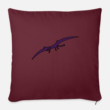 Primeval Times Pterodactyl, dino, dinosaurs, primeval times - Sofa pillow with filling 45cm x 45cm