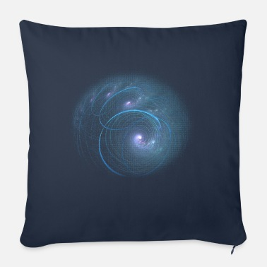 Apophysis Spiral Galaxy - Sofa pillow with filling 45cm x 45cm