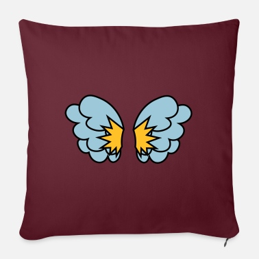 Wing Wings - Wings - Ailes - Sofa pillow with filling 45cm x 45cm