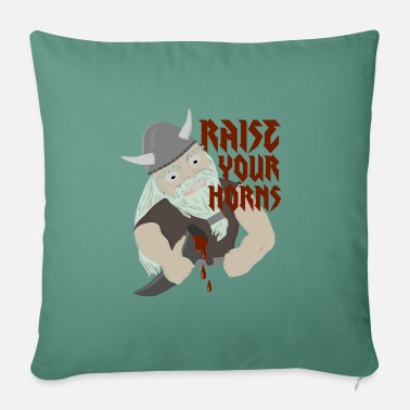 Raise Your Horns - Sofa pillow with filling 45cm x 45cm
