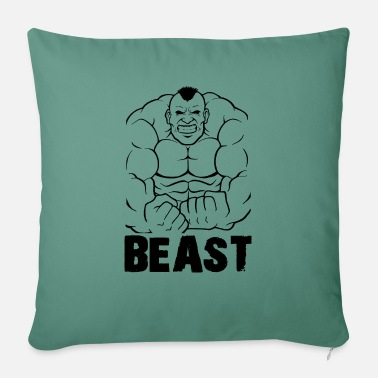 Beast Fashion Bodybuilder Gym Warrior Gift - Sofa pillow with filling 45cm x 45cm