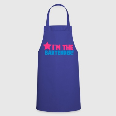 I'm the bartender waitress serve the drinks - Cooking Apron