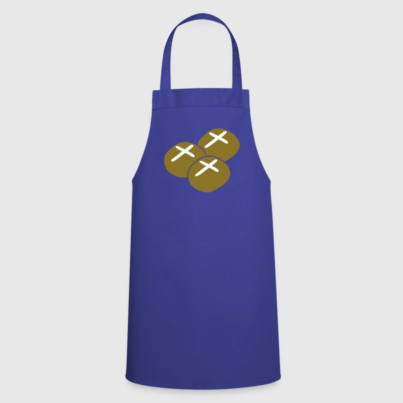 three hot cross buns - Cooking Apron