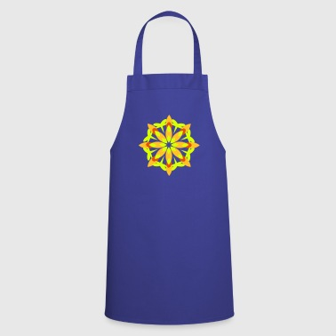A floral pattern - Cooking Apron