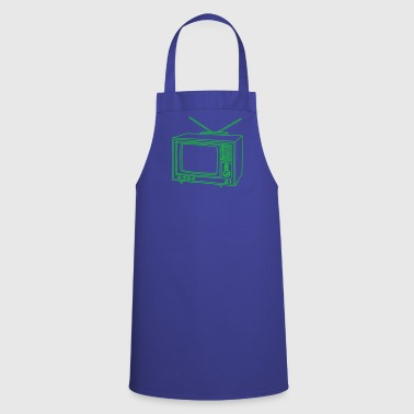 Television set TV  - Cooking Apron