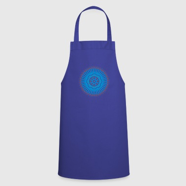 Star symbol with flower - Cooking Apron
