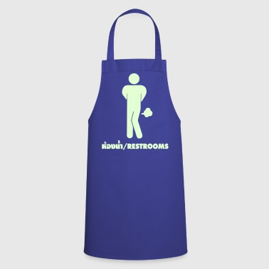 Funny Farting Restrooms / Toilet Sign - Cooking Apron