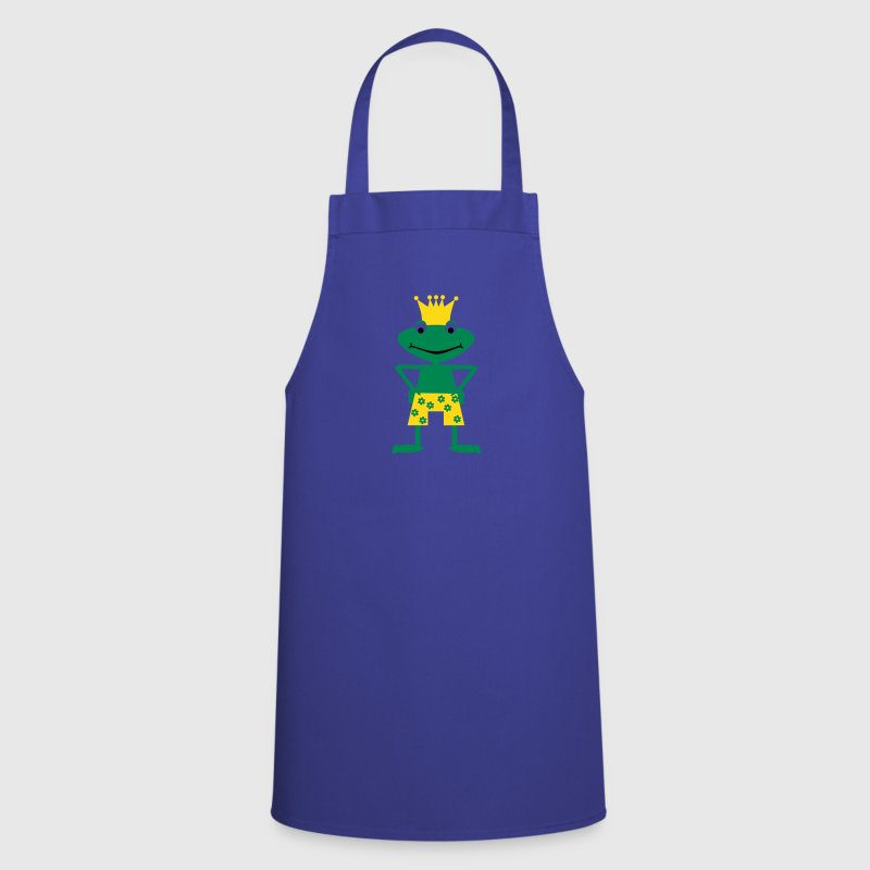 Frog King - Cooking Apron