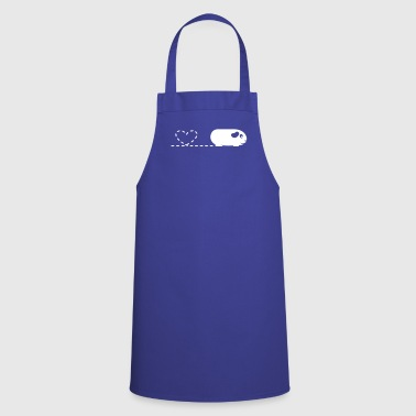 Pooping Heart Guinea Pig - Cooking Apron
