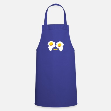 Sunny FRIED egg face sunny side up eggs for eyes - Cooking Apron