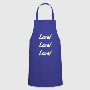 Lovely Love Love Love - Cooking Apron