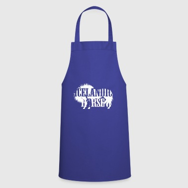 Funny wild horse - Cooking Apron