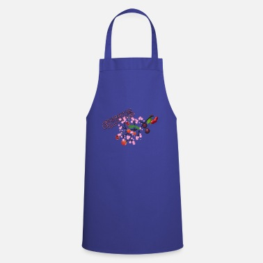 Cherry Cherries. Cherries with cherry blossoms. - Cooking Apron