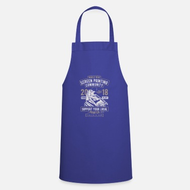 Screening Screen Printing Community screen printer - Apron