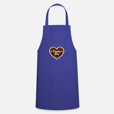 Daddy Gingerbread Heart Daddy Bear for Father's Day | - Apron