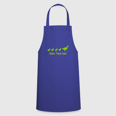 A duck family - Cooking Apron