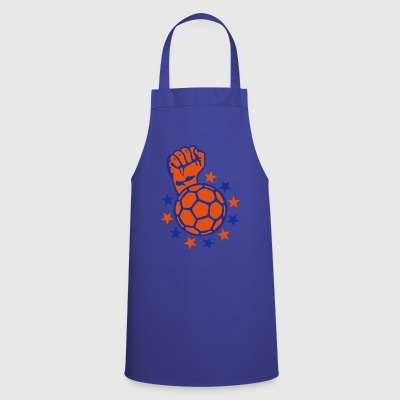 handball fist lift fist close up faust p - Cooking Apron