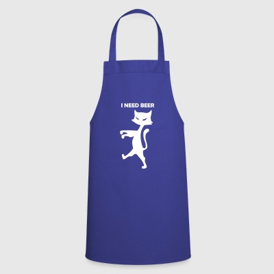 cat-i-need-beer - Cooking Apron