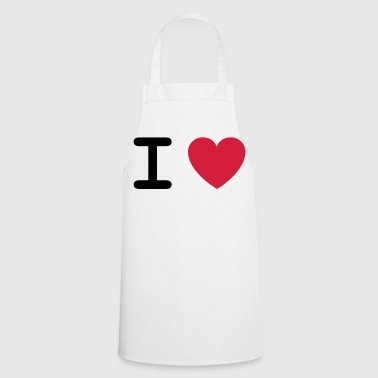 I love ... - Tablier de cuisine