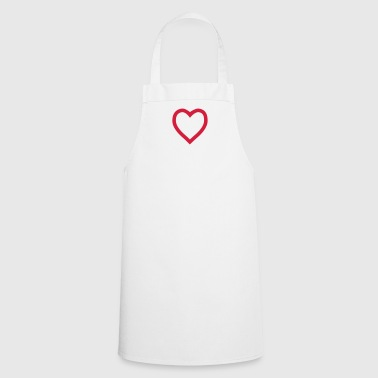 Heart outline - Cooking Apron