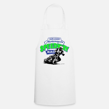 Racing Motorcycle Motorcycle Speedway Racing - Cooking Apron