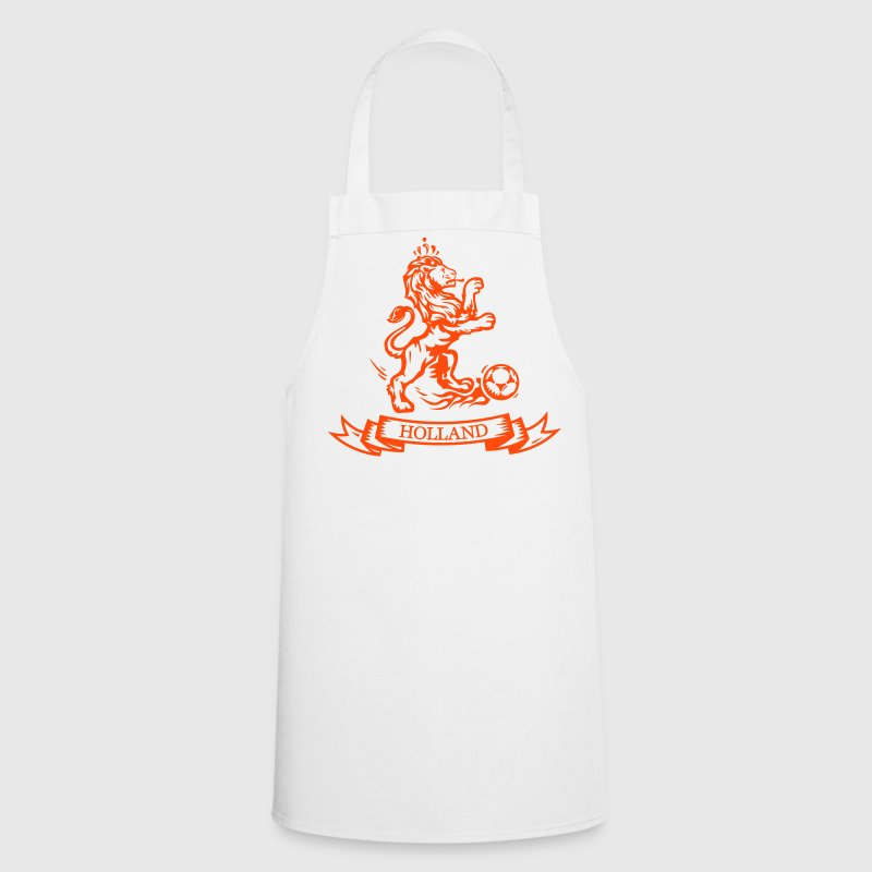 Vintage Dutch Football lion Holland jersey - Cooking Apron