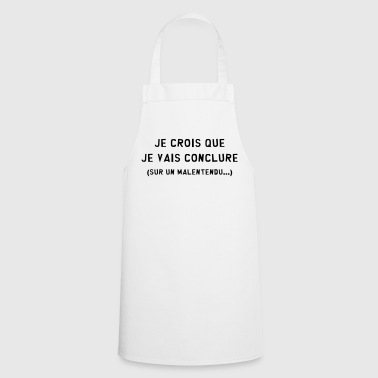 Conclure / Malentendu / Drague / Humour / Duss - Tablier de cuisine