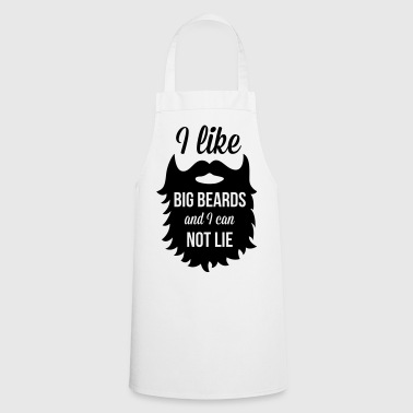 I Like Big Beards  - Keukenschort