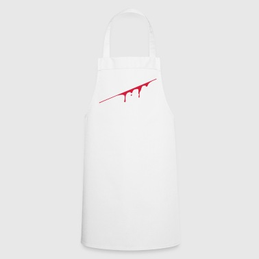 blood splatter - Tablier de cuisine
