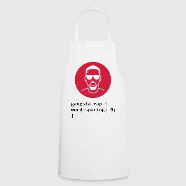 CSS pun: Gangsta Rapper - Cooking Apron