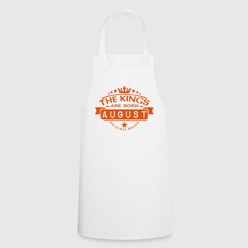 august kings born birth month crown logo - Cooking Apron