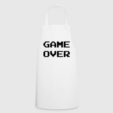 Game Over / Geek / Gaming / Gamer / Gamer / Player - Delantal de cocina