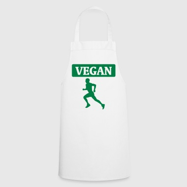 Veganes Workout - Tablier de cuisine