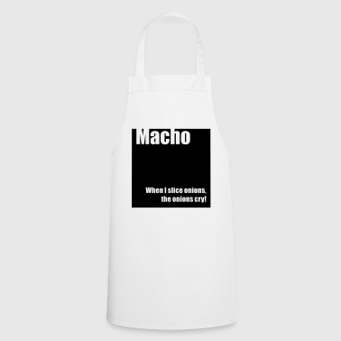Macho - Cooking Apron