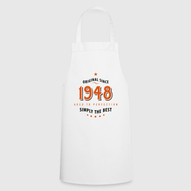 original since 1948 simply the best 70th birthday - Cooking Apron