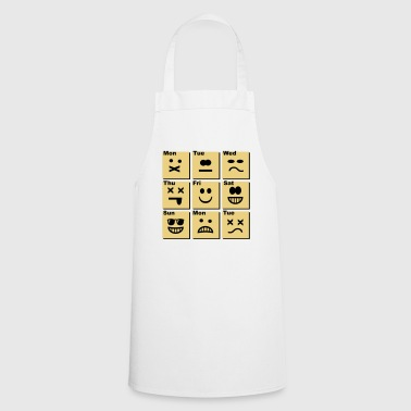 everyday emoticons - Tablier de cuisine
